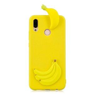 Huawei P20 Lite (2018) Cover 3D Banana - Gul