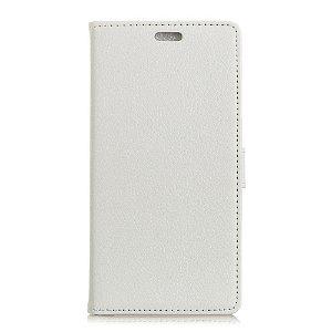 Huawei Mate 20 Pro PU Læder Flip Cover m. Stand og Kortholder - Hvid