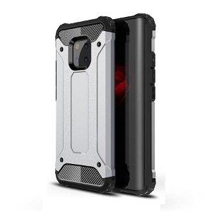 Huawei Mate 20 Pro Armor Guard Hard Case Cover Sølv