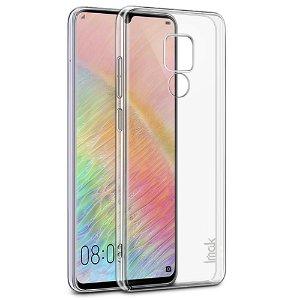 Huawei Mate 20 X IMAK Plastik Cover + Beskyttelsesfilm Gennemsigtig