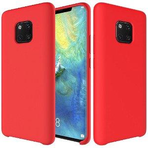 Huawei Mate 20 Pro Blødt Silikone Cover - Rød