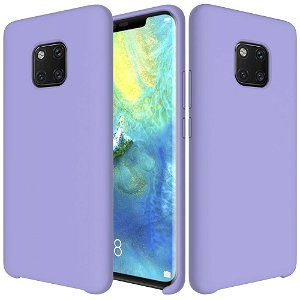 Huawei Mate 20 Pro Blødt Silikone Cover - Lilla