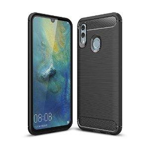 Huawei P Smart (2019) / Honor 10 Lite Sort Fleksibelt Plastik Bagcover