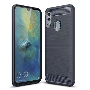 Huawei P Smart (2019) / Honor 10 Lite Mørkeblå Fleksibelt Plastik Bagcover