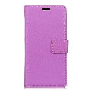 Huawei P30 Slim Wallet Læder Cover m. Pung Lilla