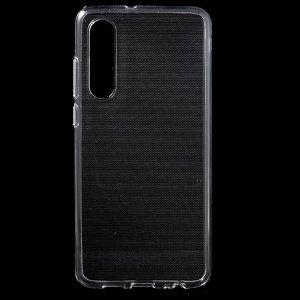 Huawei P30 Non-Slip Inner Fleksibelt Cover - Gennemsigtig