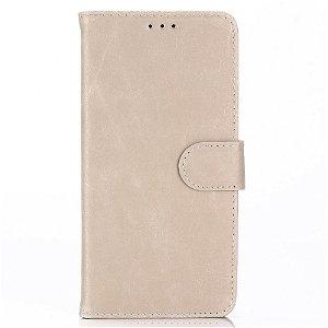Huawei P Smart (2019) / Honor 10 Lite Flip Cover m. Kortholder & Stand - Beige