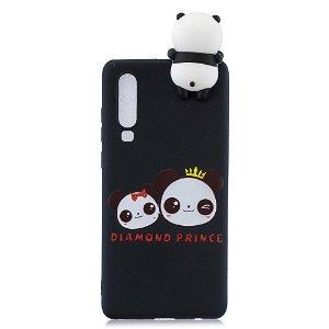 Huawei P30 Cover 3D Diamond Prince - Sort
