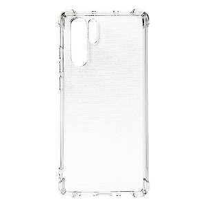 Huawei P30 Pro Drop-Proof Clear TPU Cover Gennemsigtig