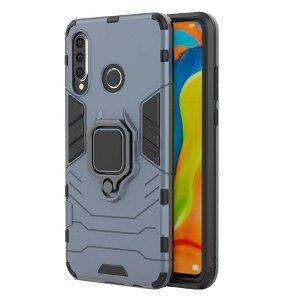 Huawei P30 Lite Håndværker Case m. Kickstand Blå
