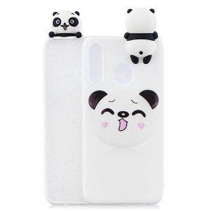 Huawei P30 Lite Fleksibelt Plastik Cover 3D Koala