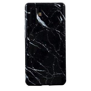 Huawei P30 Pro Plastik Cover - Sort Marmor