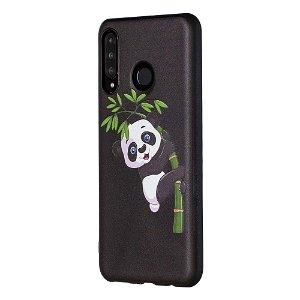 Huawei P30 Lite Fleksibelt Plastik Cover - Klatrende Panda