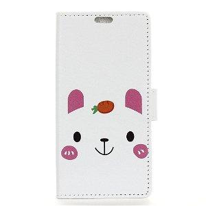 Huawei P Smart Z Læder Cover m. Pung Kanin
