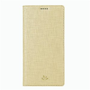 Huawei P Smart Z Unikt Læder Cover m. Kortholder - Beige