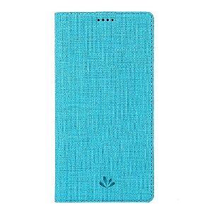 Huawei P Smart Z Unikt Læder Cover m. Kortholder - Blå