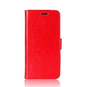 Huawei P Smart Pro Læder Flip Cover - Rød