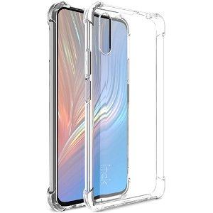 Imak Huawei P Smart Pro Fleksibel Plastik Cover + Beskyttelsesfilm - Gennemsigtig