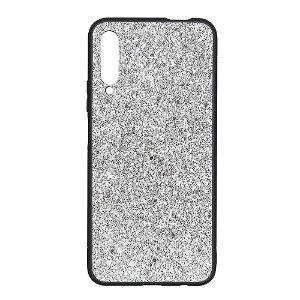 Huawei P Smart Pro Glitter Cover - Sølv
