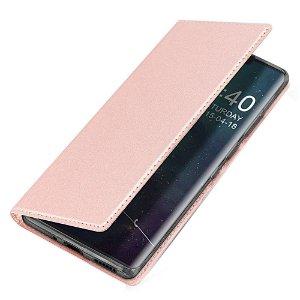 Huawei Mate 30 Pro Dux Ducis Skin Pro Series Thin Wallet Rose Gold