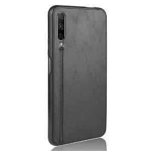 Huawei P Smart Pro Læderbetrukket Cover - Sort