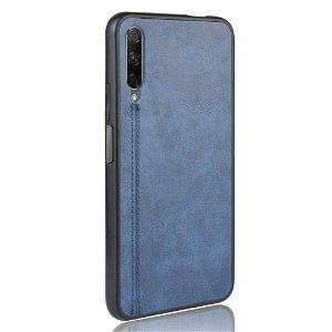 Huawei P Smart Pro Læderbetrukket Cover - Blå