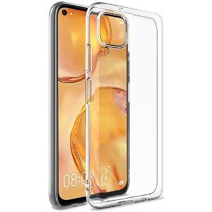 Huawei P40 Lite IMAK UX-5 Series Fleksibelt Plast Cover - Gennemsigtig