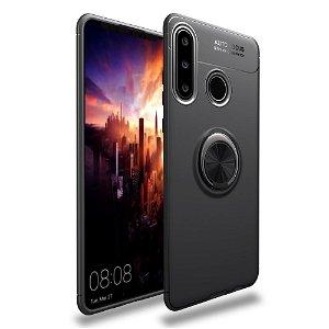 Huawei Y6p Magnetisk Kickstand Sort M. Sort Ring