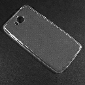 Huawei Y6 (2017) TPU Cover Ultra Thin Gennemsigtig