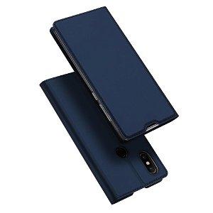Xiaomi Mi Mix 2s DUX DUCIS Skin Pro Series Thin Wallet Mørkeblå