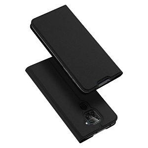 Xiaomi Note 9 DUX DUCIS Skin Pro Series Thin Wallet Flip Cover - Sort