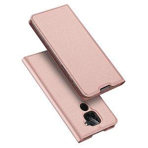 Xiaomi Note 9 DUX DUCIS Skin Pro Series Thin Wallet Flip Cover - Rose Gold