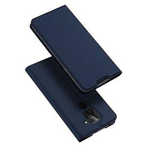 Xiaomi Note 9  Skin Pro Series DUX DUCIS Thin Wallet Cover - Mørkeblå