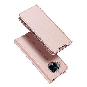 Xiaomi Mi 10T Lite 5G DUX DUCIS Skin Pro Series Thin Wallet Cover - Lyserød