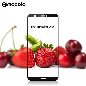 Huawei P Smart MOCOLO Hærdet Glas Skærmbeskyttelse (Full-size) - Sort