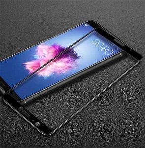 Huawei P Smart (2017) IMAK Full Coverage Hærdet Glas Beskyttelsesfilm - Sort