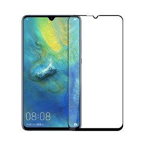 MOFI Huawei Mate 20 X Panserglas - Full Fit - Sort