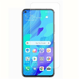 Huawei Nova 5T / Honor 20 / Honor 20 Pro Panserglas - Case Friendly - Skærmbeskyttelse - Gennemsigtig