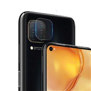 Huawei P40 Lite Beskyttelsesglas til Kameralinse - Gennemsigtig