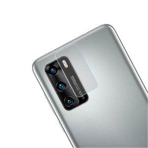 Huawei P40 Beskyttelsesglas til Kameralinse - Gennemsigtig