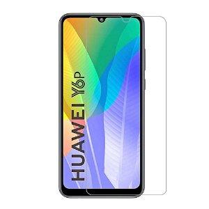 Huawei Y6p Hærdet Glas - Case Friendly - Skærmbeskyttelse - Gennemsigtig
