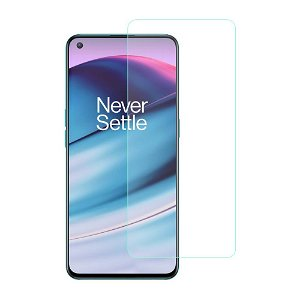 OnePlus Nord CE (5G) Hærdet Glas - Case Friendly Skærmbeskyttelse - Gennemsigtig