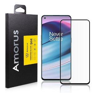AMORUS OnePlus Nord CE (5G) Skærmbeskyttelse - Hærdet Glas - Full Fit - Sort