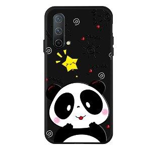 OnePlus Nord CE (5G) Fleksibel Plastik Bagside Cover - Sød Panda