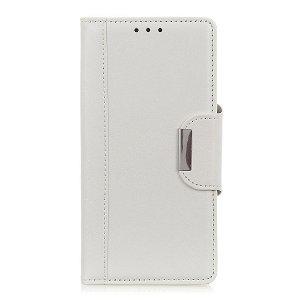 OnePlus Nord 2 (5G) Klassisk Læder Flip Cover m. Pung - Hvid