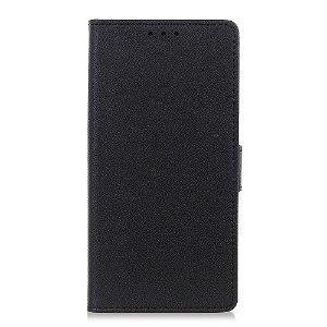 OnePlus Nord 2 (5G) Enkelt Læder Flip Cover m. Pung - Sort
