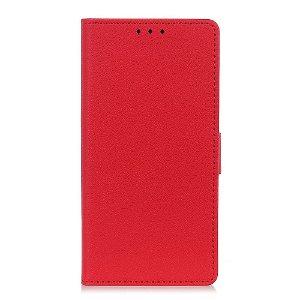 OnePlus Nord 2 (5G) Enkelt Læder Flip Cover m. Pung - Rød