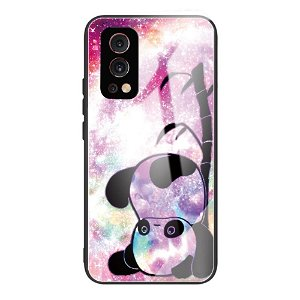 OnePlus Nord 2 (5G) Fleksibelt Hybrid Bagside Cover m. Print - Panda