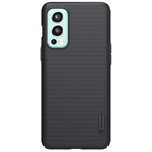 OnePlus Nord 2 (5G) NILLKIN Frosted Shield Bagside Cover inkl. Stander - Sort