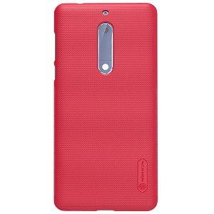 Nokia 5 NILLKIN Shield Cover inkl. Beskyttelsesfilm Rød